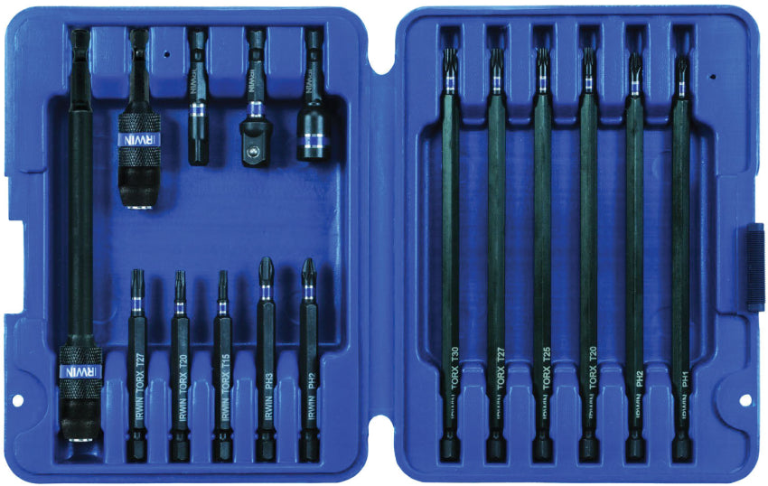 Irwin IWAF1316 16 Pc Screwdriver Insert Bit Set