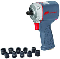 "Ingersoll Rand 35MAXKS 1/2"" Ultra-Compact Impact Wrench Kit with Sockets"