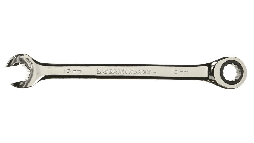 GearWrench 85510 10mm 12 Point Open End Ratcheting Combination Wrench