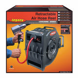 "Legacy L8306 3/8"" x 75 ft. Levelwind Retractable Air Hose Reel"