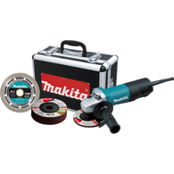 "Makita 9557PBX1 4-1/2"" Paddle Switch Cut-Off/Angle Grinder"