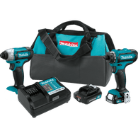 Makita CT230R 12V Mac CXT Lithium-Ion Cordless 2 Piece Combo Kit (2.0Ah)
