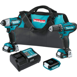 Makita CT323 12V Max CXT Lithium-Ion Cordless 3-Pc. Combo Kit (1.5Ah)