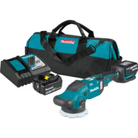 "Makita XOP02T 18V LXT Li‑Ion Cordless 5"" & 6"" Dual Action Random Polisher Kit"