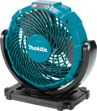 "Makita CF100DZ 12V max CXT Lithium-Ion Cordless 7-1/8"" Fan - Blue (Tool Only)"