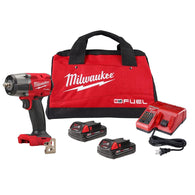 "Milwaukee 2960-22CT M18 FUEL 3/8"" Impact Wrench Kit W/(2) 2Ah Batteries"
