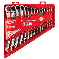 Milwaukee 48-22-9416 15 Piece Ratcheting Combination Wrench Set - SAE