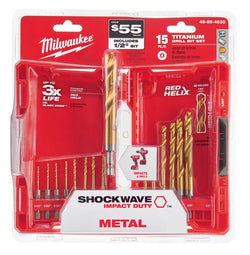 Milwaukee 15 Pc Shockwave Drill & Drive Set 48-89-4630
