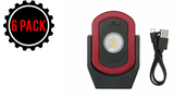 Maxxeon CYCLOPS (6 Pack) Workstar 810 Rechargeable Commercial Grade LED Work Light
