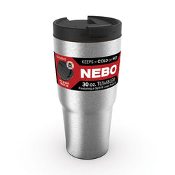 Nebo 6551A High Grade Stainless Steel Spill/Leak Proof Lid 30 oz Tumbler Cup Mug