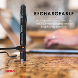 Nebo POC-0005 Inspector RC Penlight Everyday Carry Rechargeable Waterproof