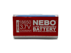 Nebo 7001BAT 18650 Li-Ion Rechargeable Battery For Trascend Flashglight 7001