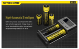 Nitecore I2 Intellicharger 2 Channel Battery Charger for 18650 AA AAA