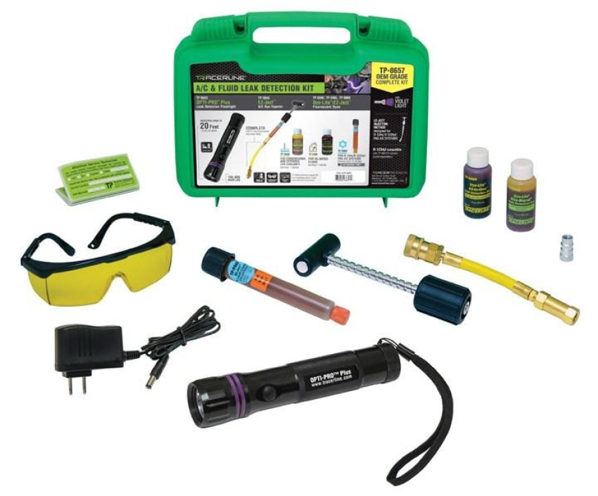 Tracerline OEM Grade OPTI-PRO Plus /EZ-Ject Leak Detection Kit 8657