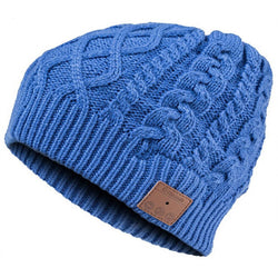 Mountain Bluetooth Cable Knit Beanie Blue VG002BL