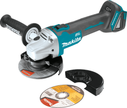 "Makita XAG03Z 18V LXT Brushless 4‑1/2"" Cut‑Off/Angle Grinder, Tool Only"