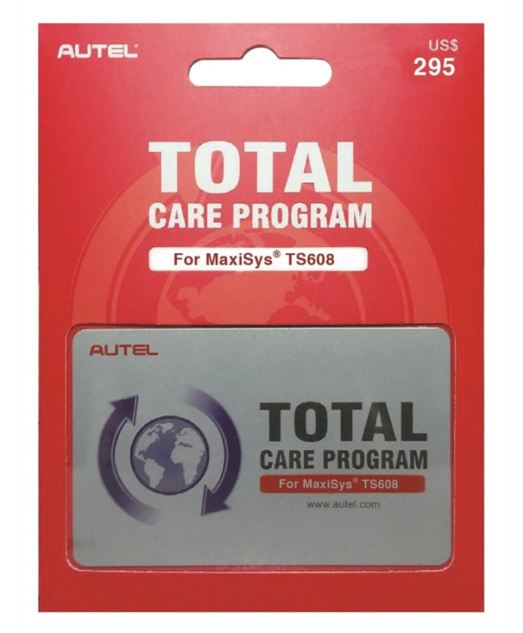 AUTEL 1 YEAR TOTAL CARE PROGRAM CARD FOR MaxiTPMS TS608 TS608-1YR