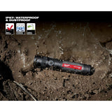 Milwaukee 2161-21 1100 Lumens LED USB Rechargeable Twist Focus Flashlight