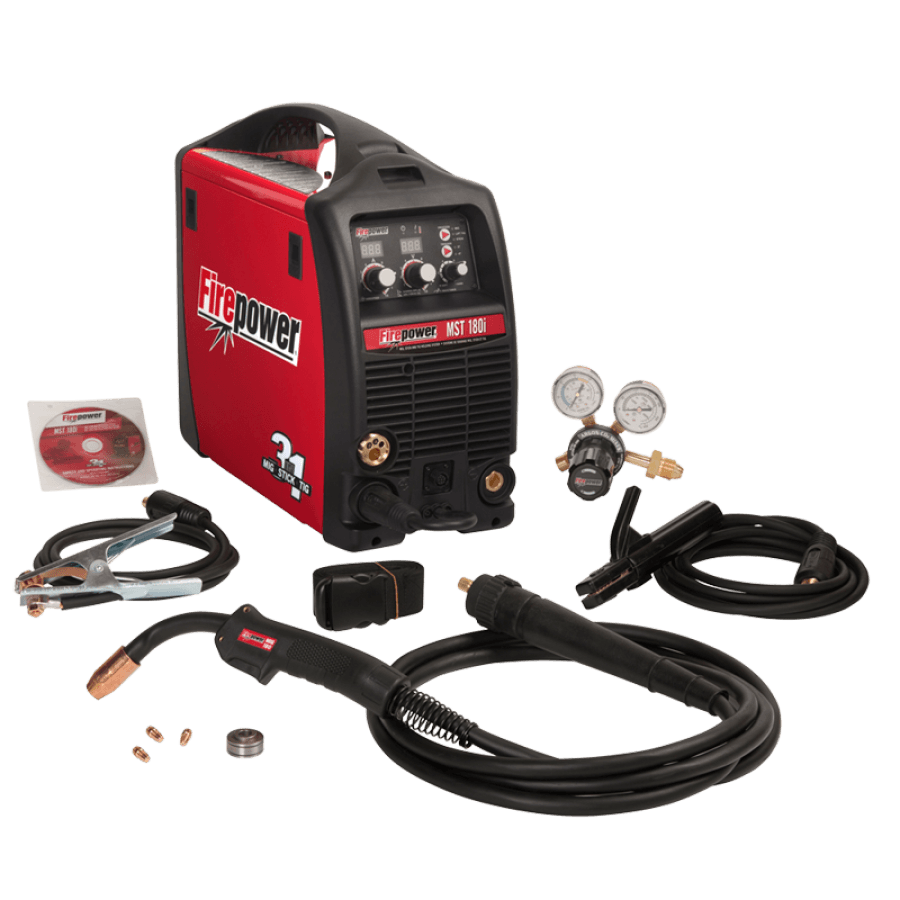 Firepower MST 180i 3-in-1 MIG Stick and TIG Welder 1444-0871