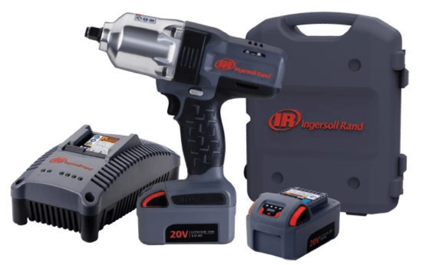 "IR 20 V 1/2"" Cordless Impact Wrench 1100 FT/LBS 2 Bats Kit W7150-K2 FREE BL2010"