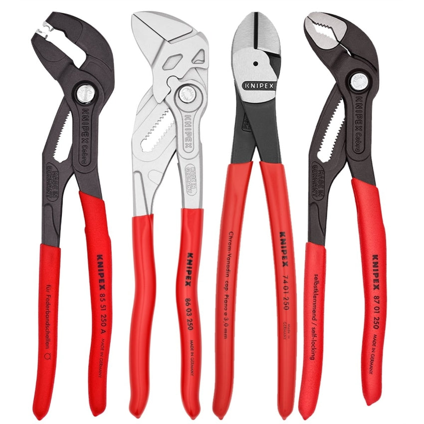 Knipex 4PC Automotive Plier Set 9K0080136US