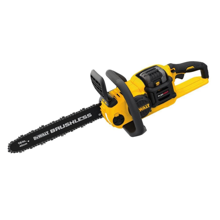 DeWalt FLEXVOLT 60-Volt MAX Brushless 16 in. Chainsaw w/3Ah Battery & Charger DCCS670X1
