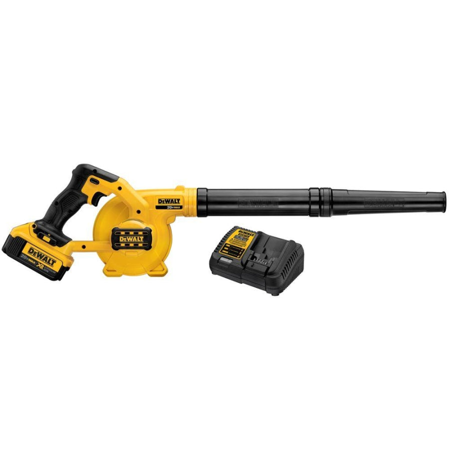 DeWalt 20V MAX 135MPH 100CFM Blower Kit w/4Ah Battery and Charger DCE100M1