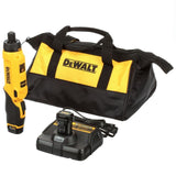 DeWalt 8V MAX Gyroscopic Screwdriver w/Adj. Handle (2)1ah batteries Kit DCF680N2