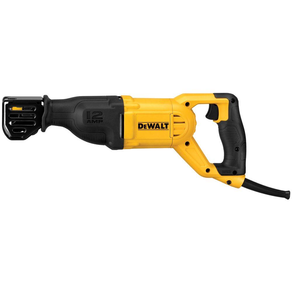 DeWalt 12-Amp Corded Reciprocating Saw 110V DWE305