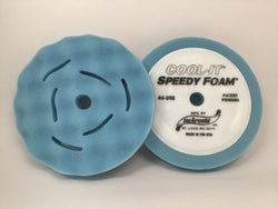 "Sm Arnold  2 Pack 8"" Cool-It Waffle Polishing Pad- BLUE 44-098"