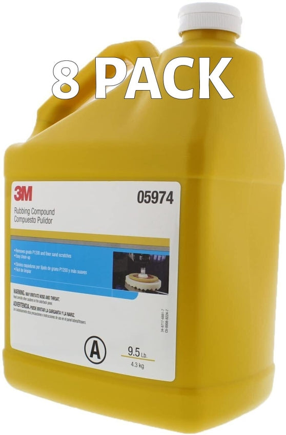 3M Perfect-It  II Rubbing Compound 05974 1 Gallon 8 Pack Pricing 3M 5974
