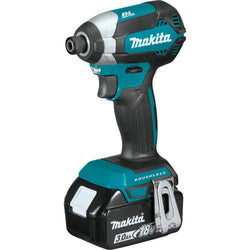 Makita 18V LXT Lithium-Ion Brushless Impact Driver Kit with 3Ah Battery XDT131