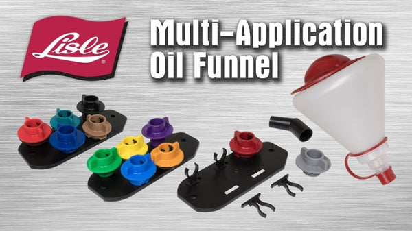Lisle MULTI APPLICATION OIL FUNNEL SET 12PC 19612
