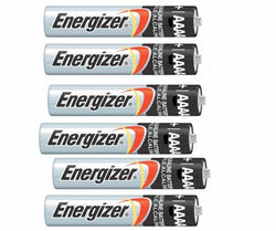 Energizer 6 Pack af 4A AAAA E96 Batteries