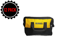 "Dewalt Contractor Bag Small 11"" x 9"" x 6"" For 12 Volt Sets (12 PACK)"