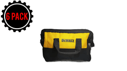 "Dewalt Contractor Bag Small 11"" x 9"" x 6"" For 12 Volt Sets (6 PACK)"