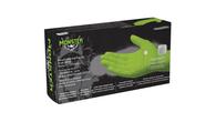Monster Mobile MG570GXXL High Visibility Green Nitrile Gloves, 100/Box, XXL
