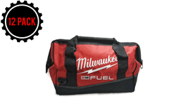 "Milwaukee FUEL CONTRACTOR Bag 16.5"" x 9.75"" x 10"" w/(6) Inside Pockets (12 PACK)"