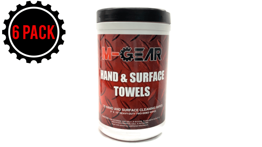 M-Gear Tub Of Towels 70 CT 6 PACK (1 CASE)