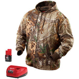 MIlwaukee M12 Heated Realtree Xtra Camo Hoodie Kit 2383