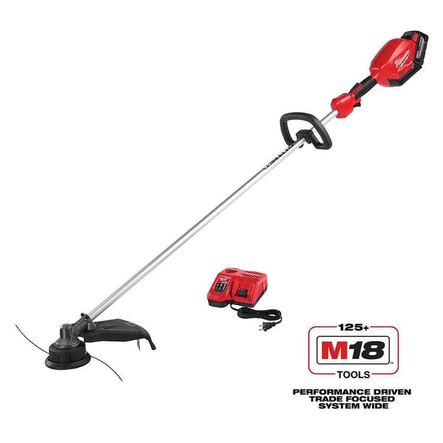 Milwaukee 2725-21HD M18 FUEL String Trimmer Kit w/ 9Ah Battery and Rapid Charger
