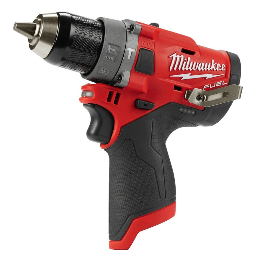 "Milwaukee M12 FUEL 1/2"" Brushless Hammer Drill (Tool Only) 2504-20"