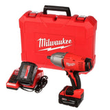"Milwaukee 2663-22 M18 1/2""  Impact Wrench w/Friction Ring w/(2) 3 Ah Batteries, Charger & Case"