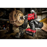 "Milwaukee 2960-22 GEN-2 Mid-Torque 3/8"" Impact Kit W/(2) 5ah Batteries"