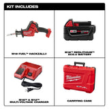 Milwaukee 2719-21 M18 FUEL HACKZALL Reciprocating Saw Kit w/(1) 5Ah Battery