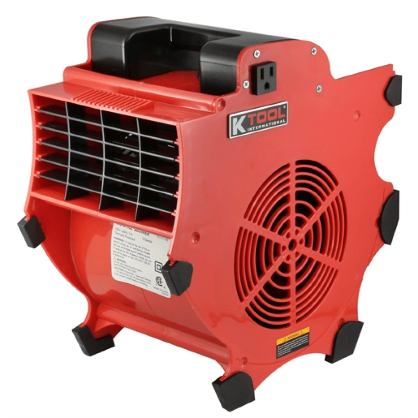 K Tool KTI 77700 Big Chill 300W 1200CFM Workforce Industrial Blower and Fan