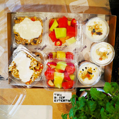 Breakfast Pots Box (Serves 10)