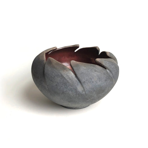 Monica Bowen Forrester Leaf Bowl Ceramics Copper Glaze