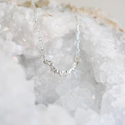 Arch Necklace Sterling Silver