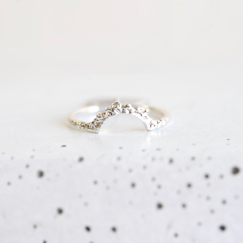 Arch Ring - Sterling Silver
